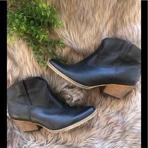 Western cheetah ankle boots! By Very Volatile